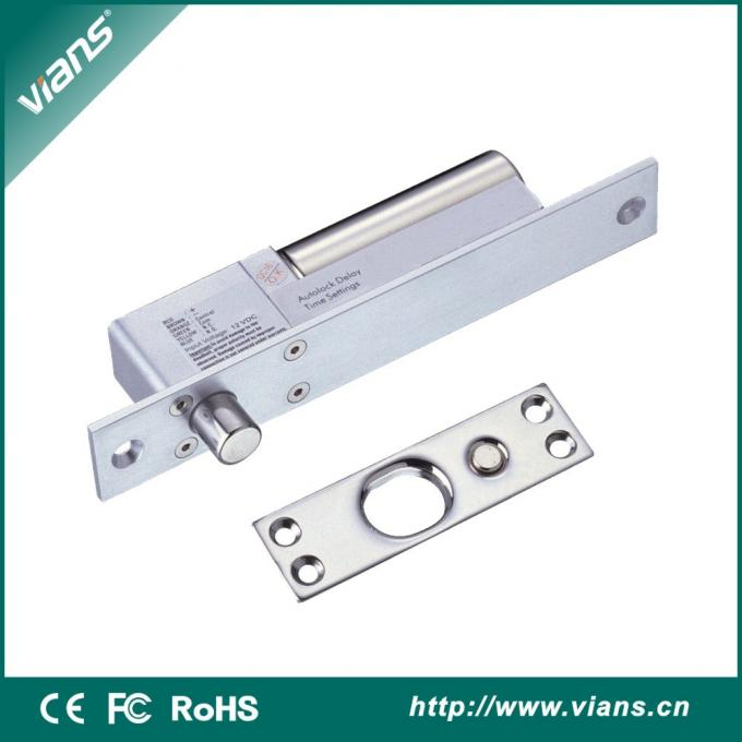 12V Aluminum Fail Secure Electric Bolt Lock Motise Lock For Sliding Door CE Approvel