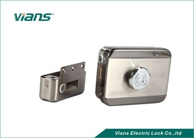 Access Control Electric Motor Lock With Metal Gear , Mute Home Security Door Locks